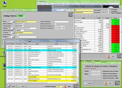 Sistema de control de bancos